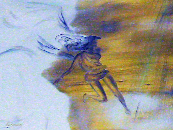 Wall Art - Painting - Emerging Angel by Faye Anastasopoulou