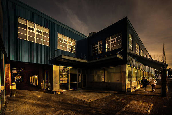 Photograph - Emily Carr North Building by Juan Contreras