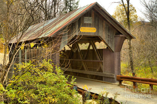 Photograph - Emily's Covered Bridge by Adam Jewell