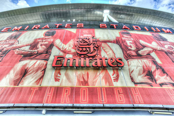 Wall Art - Photograph - Emirates Stadium London by David Pyatt