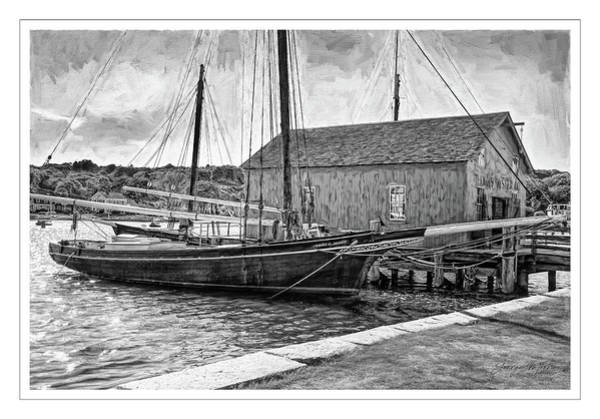 Wall Art - Photograph - Emma Berry Sloop by George Moore