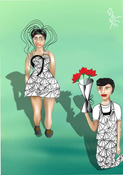 Digital Art - Empathy Romance by Tatiana Hallack