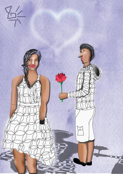 Digital Art - Empathy Valentines Day by Tatiana Hallack