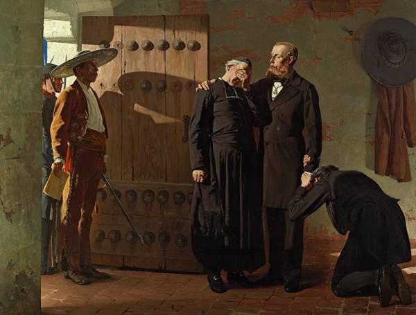 Wall Art - Painting - Emperor Maximilien Before His Execution, 1882 by Jean-Paul Laurens