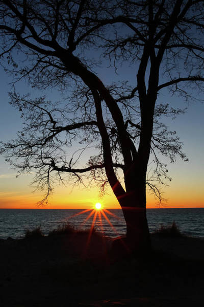 Photograph - Empire Beach Sunset by Heather Kenward