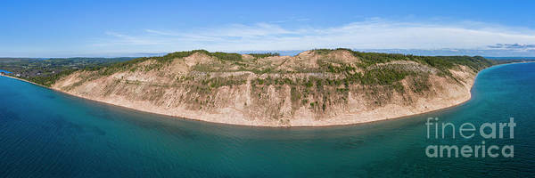 Wall Art - Photograph - Empire Bluff Aerial by Twenty Two North Photography
