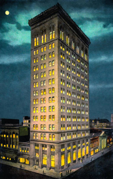 Photograph - Empire Building - Vintage Birmingham Alabama by Mark Tisdale