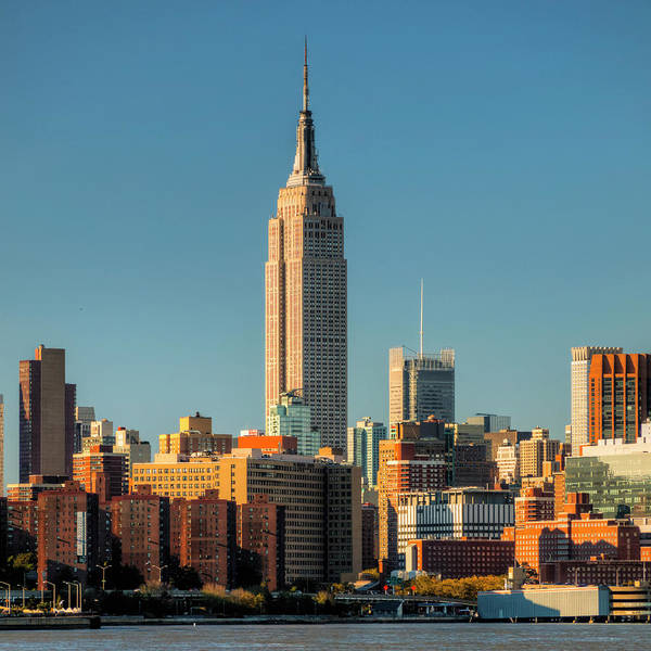 Wall Art - Photograph - Empire State Building by Michael Lee