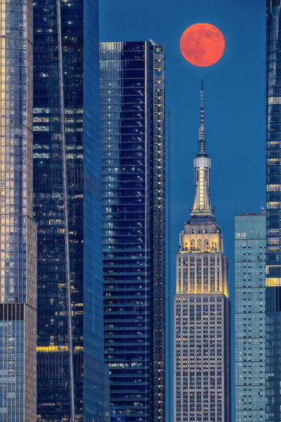 Photograph - Empire State Building Nyc  by Susan Candelario