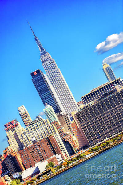 Photograph - Empire State Building Sideways by John Rizzuto