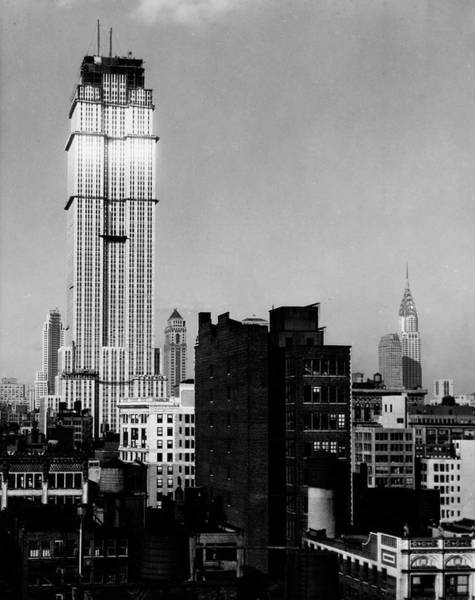 The Empire Photograph - Empire State Building by The New York Historical Society