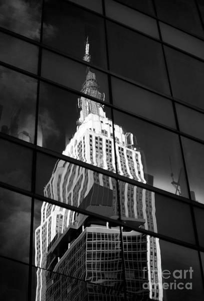 Wall Art - Photograph - Empire State Building by Tony Cordoza
