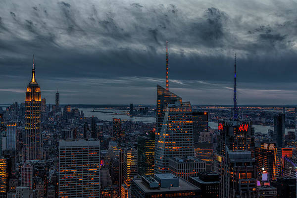 Photograph - Empire State Building World Trade Center  Nyc by Susan Candelario