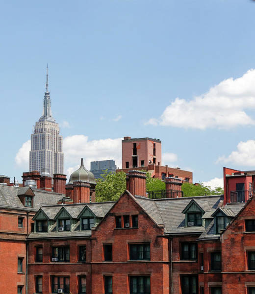 Wall Art - Photograph - Empire State Seen From The High Line by Tom Norring