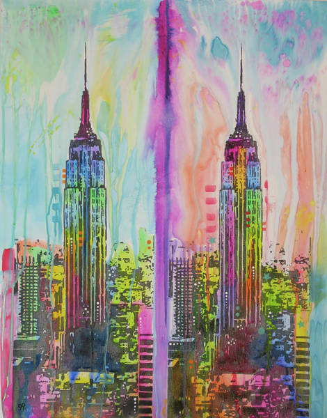 Empire Painting - Empire States by Dean Russo Art