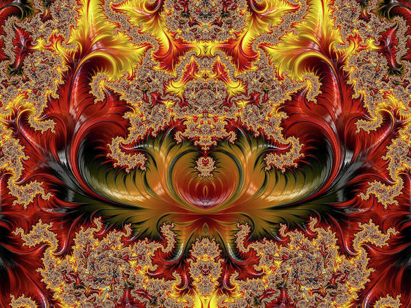 Digital Art - Empirically Envisioned Abstract by Isabella Howard