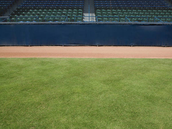 Team Sport Photograph - Empty Baseball Field by Whit Preston