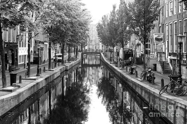 Photograph - Empty Canal Amsterdam 2014 by John Rizzuto
