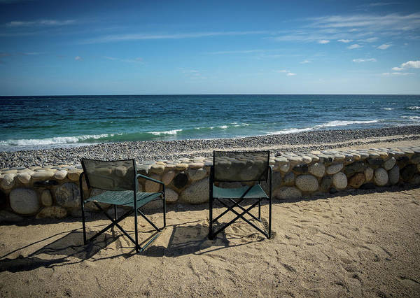 Photograph - Empty Chairs by Jean Noren