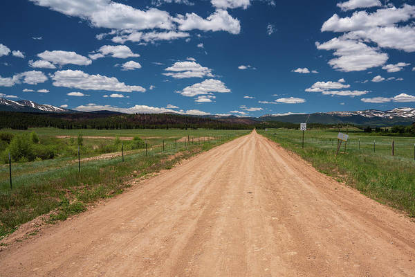Photograph - Empty Dirt Road In Colorado by Kyle Lee