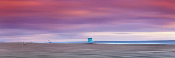Wall Art - Photograph - Empty Lifeguard Towers by Sean Davey