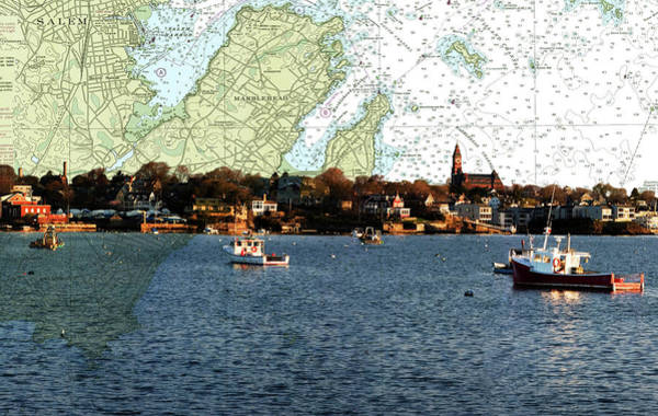 Photograph - Empty Marblehead Harbor by Jeff Folger