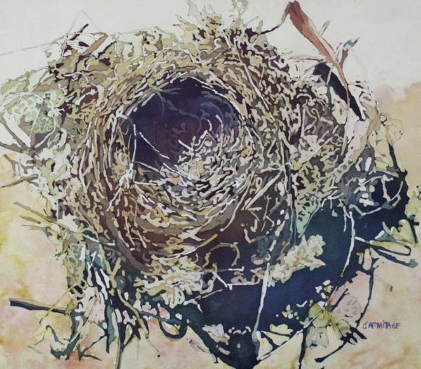 Empty Nest Wall Art - Painting - Empty Nest by Jenny Armitage