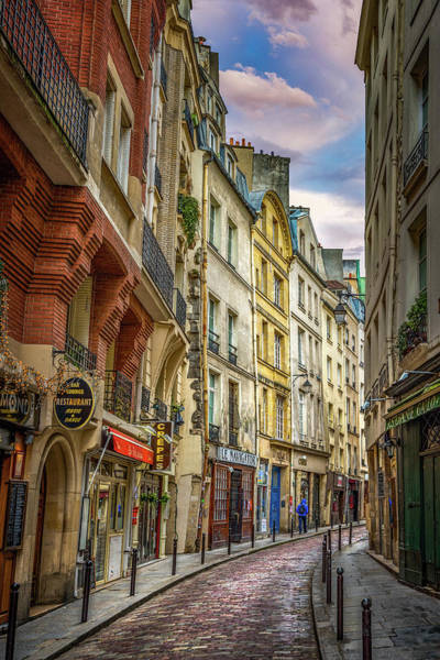 Photograph - Empty Streets Of Paris by Darren White