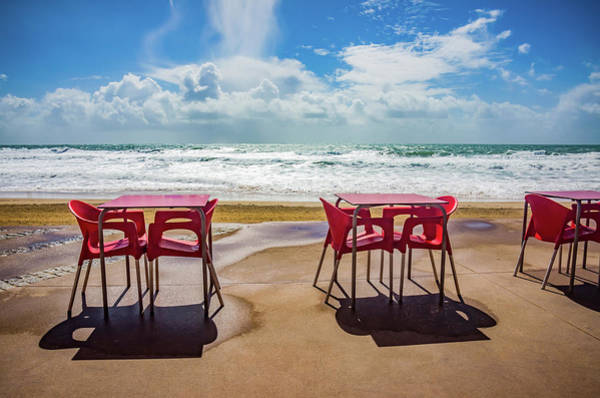 Wall Art - Photograph - Empty Tables by Carlos Caetano