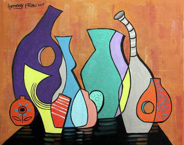 Painting - Empty Vases by Anthony Falbo