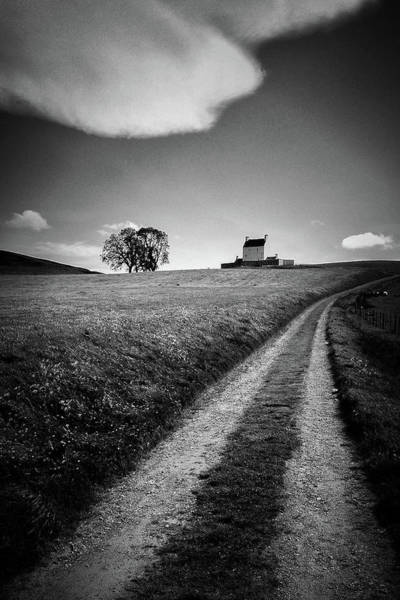 Wall Art - Photograph - Path To Corgarff Castle by Dave Bowman
