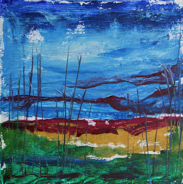 Painting - Encaustic Landscape by Jocelyn Friis