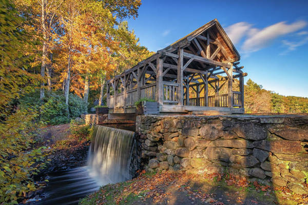 Photograph - Enchanta Bridge In Moore State Park by Kristen Wilkinson