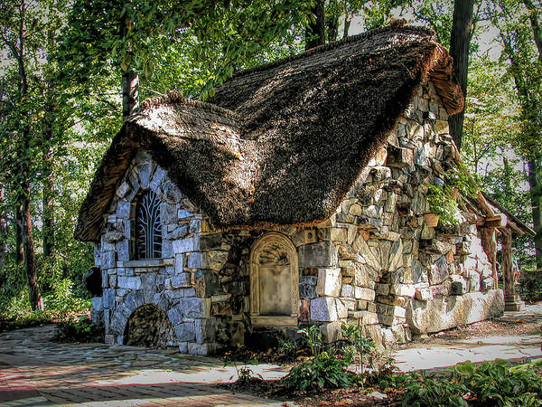 Winterthur Wall Art - Photograph - Enchanted Cottage by Paul Coco