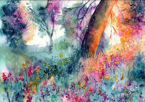 Wall Art - Painting - Enchanted by Suzann Sines