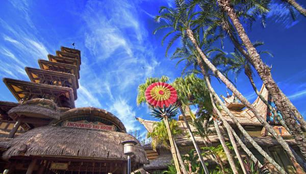 Adventureland Photograph - Enchanted Tiki Room Panorama by Mark Andrew Thomas