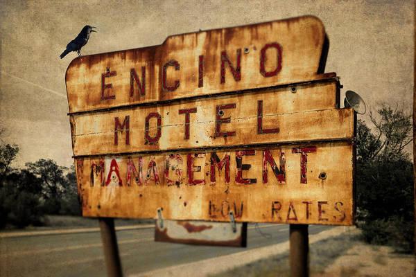 Photograph - Encino Hotel by Lou Novick