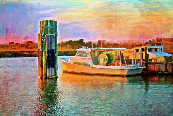 Photograph - End Of A Boats Day by Alice Gipson