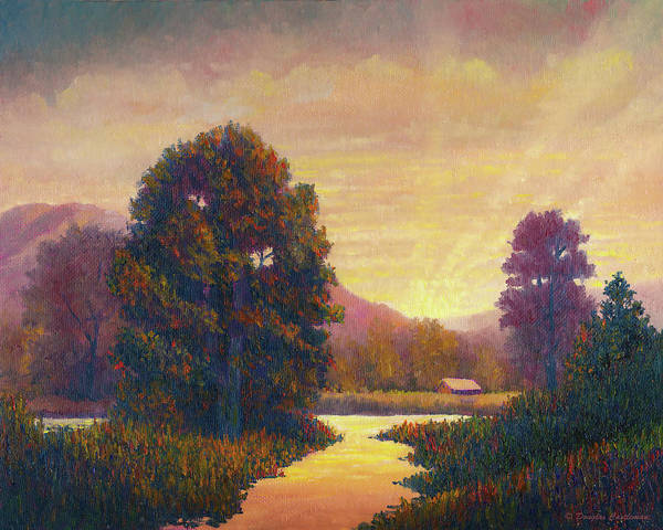 Painting - End Of Day by Douglas Castleman