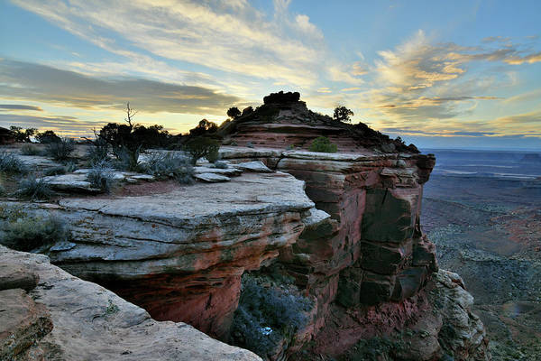 Photograph - End Of The Day At Orange Cliffs In Canyonlands Np by Ray Mathis