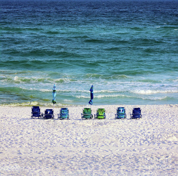 Photograph - Endless Blue by Karen Adams