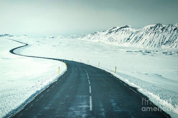 Northern Photograph - Endless by Evelina Kremsdorf