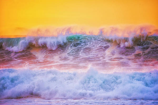 Endless Waves Art Print by Fernando Margolles
