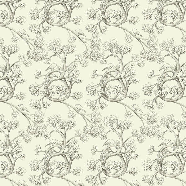 Books Drawing - Endpapers by Eric Fan