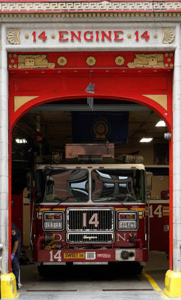 Wall Art - Photograph - Engine 14 New York by Andrew Fare