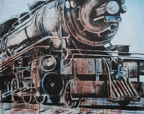 Painting - Engine #25 by Emily Page