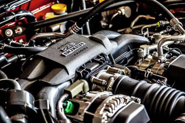 Photograph - Engine by Eric Christopher Jackson