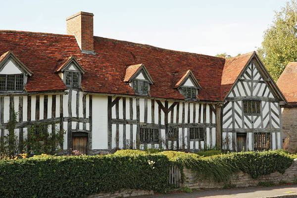 Tudor Photograph - England, Warwickshire, Wilmcote, Mary by Peter Scholey