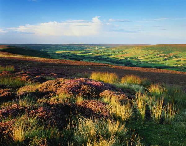 Moored Photograph - England,north Yorkshire Moors, Danby by Joe Cornish