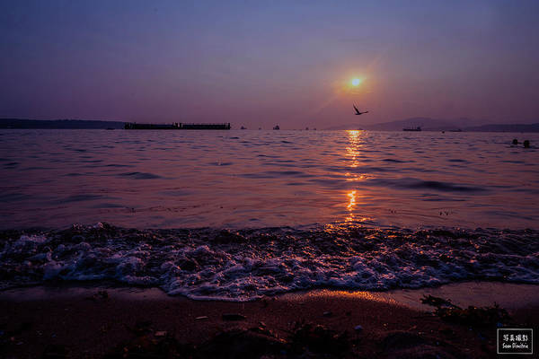 Wall Art - Photograph - English Bay Sunset by Sean Dimitrie